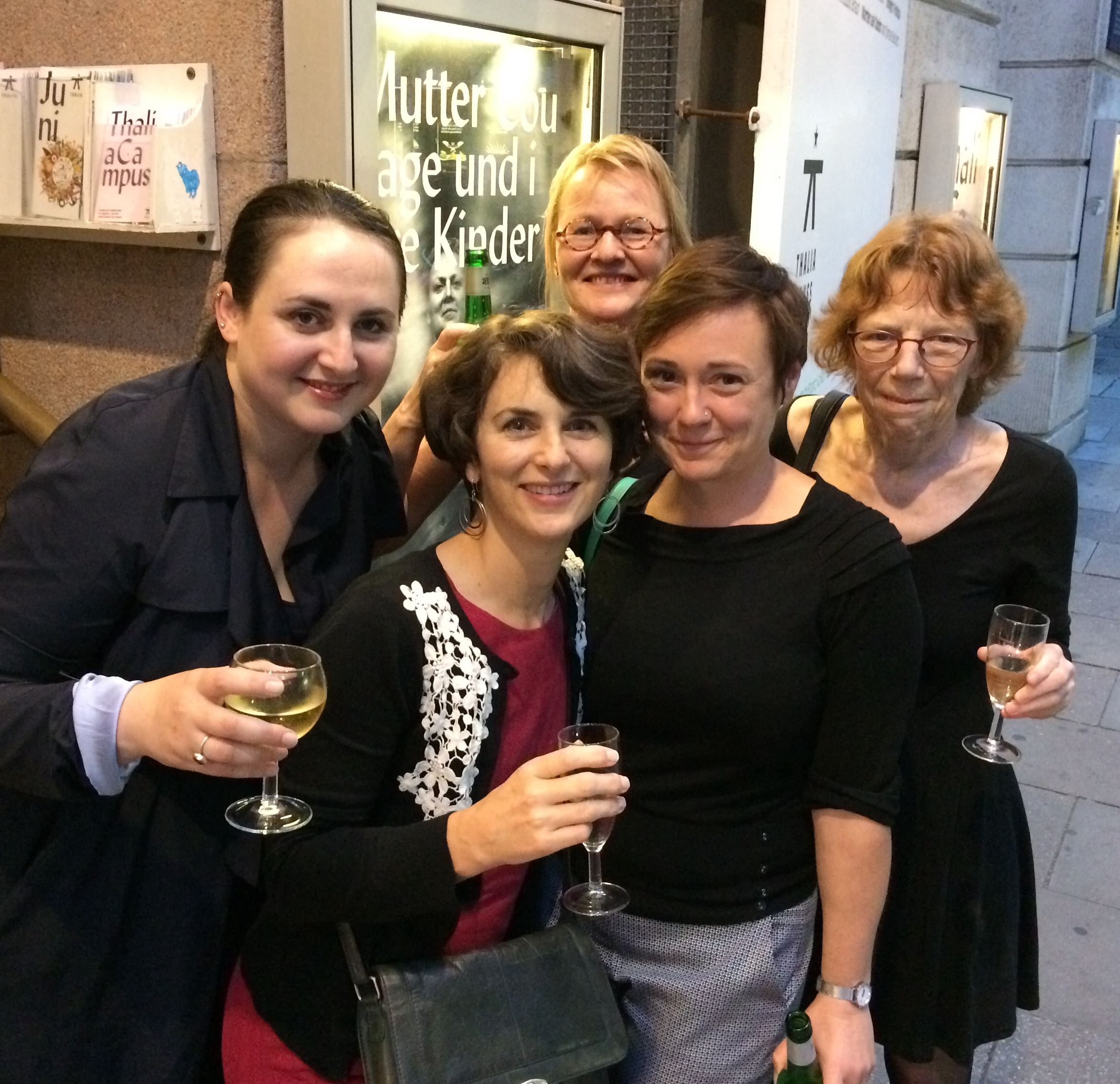 Haratischwili and translators photo