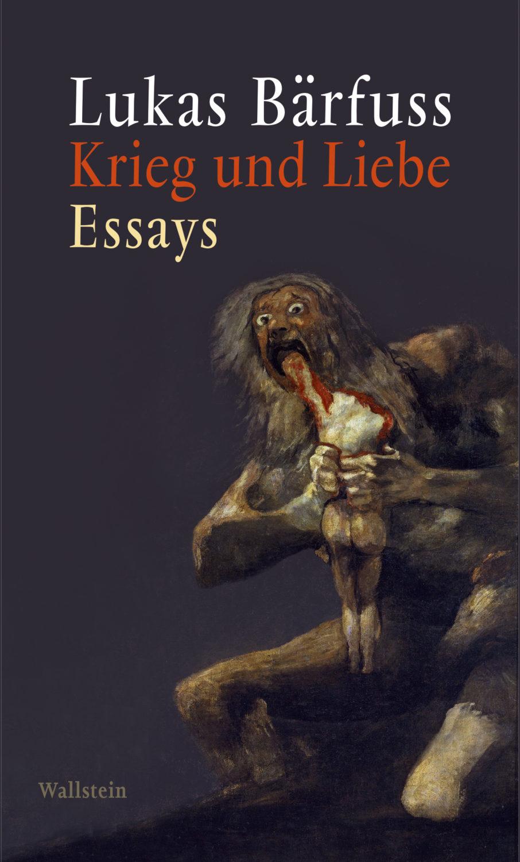 Lukas Bärfuss Cover